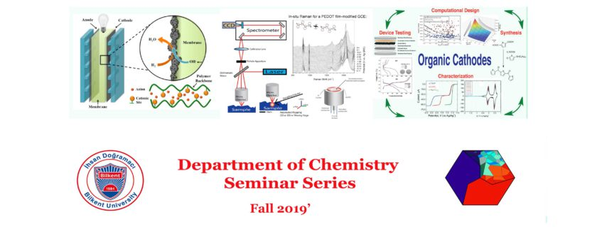 Fall'19 Department Seminar Series Start with Héctor D. Abruña