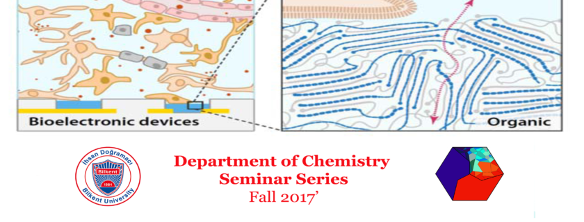 Weekly Department Seminar Series Hosts with Asst. Prof. Sahika Inal