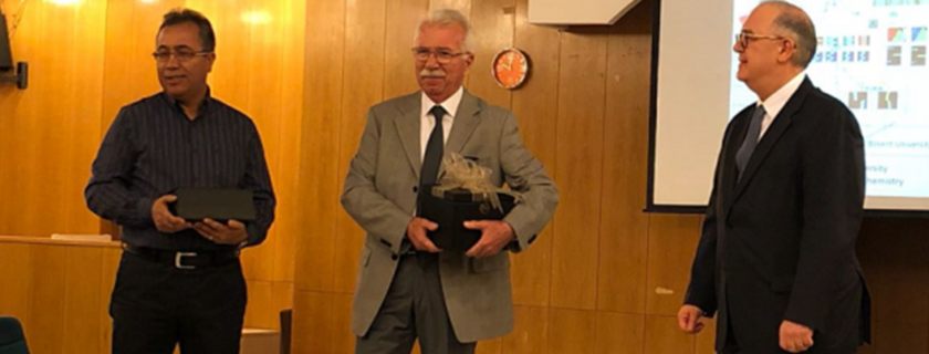 A symposium in honor of Prof. Şefik Süzer on the Occasion of his 70th Birthday was held on April 20th, 2018