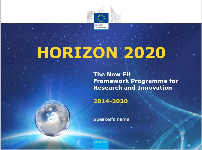 Horizon 2020 standard presentation